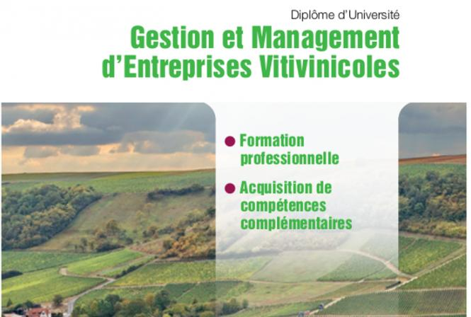 Innovation et formation vitivinicole