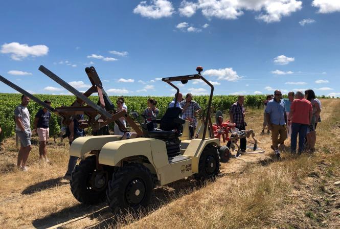 Tracteurs viticoles, à quand le passage à l'électrique ?